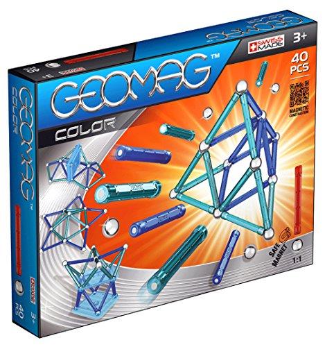 Geomag Color 40 piezas, juego de construcción (252)