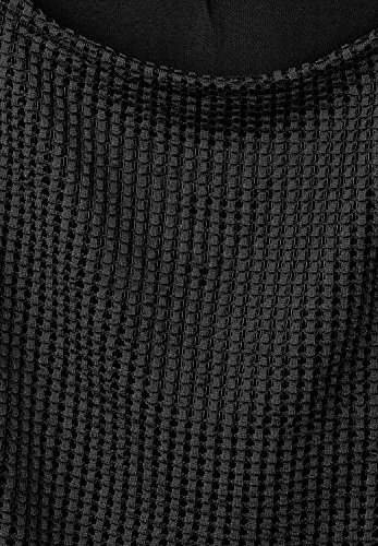 Street One Damen 2-in-1 Mesh Shirt Sophia Black (Schwarz)