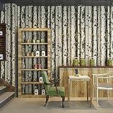 Kuamai Holz Muster Weiße Birke Holzstruktur Persönlichkeit Restaurant Schlafzimmer Retro Tapeten