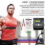 Sportstech ES600 Profi Ergometer mit APP Steuerung & integriertem Stromgenerator + Pulsgurt optional, HRC, optimaler ergonomischer Sitzkomfort - Liegeergometer Heimtrainer mit Rückenlehne - 4