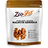 Ziofit Walnut Kernels Extra Light Quarters, 250g (Buy 1 Get 1 Free)
