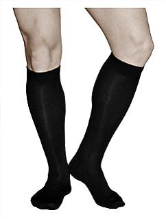8e11d3f5334b6 vitsocks Herren Kniestrümpfe aus Premium Merino Wolle