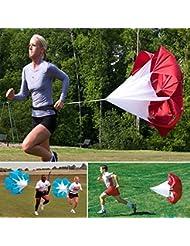 56inch Perceuses Speed \u200b\u200bResistance Training Course Parachute Chute
