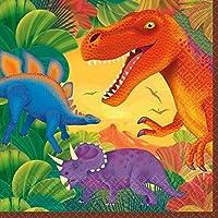 Tovaglioli festa dinosauri party 33x33cm 16pz