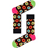 Happy Socks Donut Sock Calcetines, Multicolor (Multicolour 930), 4/7 (Talla del fabricante: 36-40) para Mujer