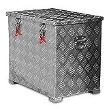 120l Alukiste Werkzeugkiste Alubox Deichselbox Staubox Gurtkiste Box Alu Kiste TB2