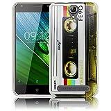 thematys Passend für Acer Liquid Z6 Kassette Silikon Schutz-Hülle weiche Tasche Cover Case Bumper Etui Flip Smartphone Handy Backcover Schutzhülle Handyhülle