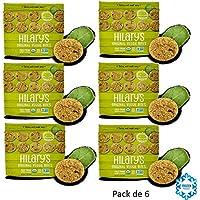 HILARY's MINI BURGUESAS DE QUINOA DE GRANO ENTERO COCIDO 340g VEGANO Pack de 6