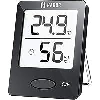 Habor Igrometro Termometro Digitale Termoigrometro LCD con l'Icona di comforto Termometro Ambiente Interno Rilevatore di…