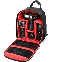 Uspech Shoulder Backpack to Carry DSLR SLR Lens Camera Bag(Red, Black)
