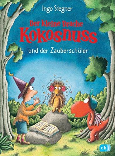 Buchseite und Rezensionen zu 'Der kleine Drache Kokosnuss und der Zauberschüler (Die Abenteuer des kleinen Drachen Kokosnuss 26)' von Ingo Siegner