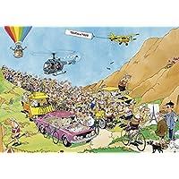 Jumbo - Puzzle Tour de France 3 Fold, 2 x 1000 Piezas (619019)