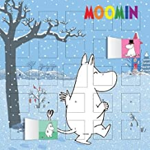 Moomin and the Winter Snow advent calendar (with stickers)