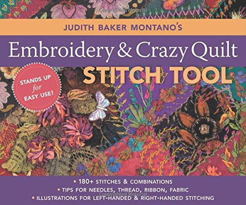 Judith Baker Montano's Embroidery and Crazy Quilt Stitch Tool