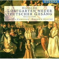 Lustgarten neuer teutscher Gesäng, Balletti, Galliarden und Intraden Nürnberg 1601