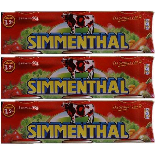 9x Simmenthal 'Rindfleisch in Aspik', 90 g