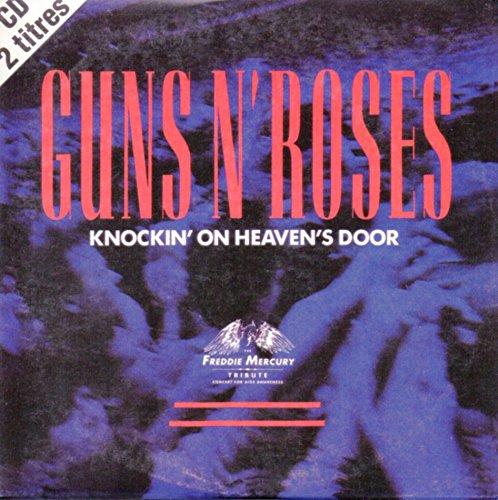 Knockin' on heaven's door 2-track CARD SLEEVE 1) Knockin' on heaven's door LP version 2) Knockin' on heaven's door LiveCDSINGLE