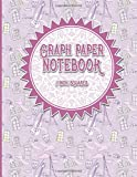 Graph Paper Notebook: 1 Inch Squares: Blank Graphing Paper - Graph Paper Booklet, Perfect For The School Or Office!