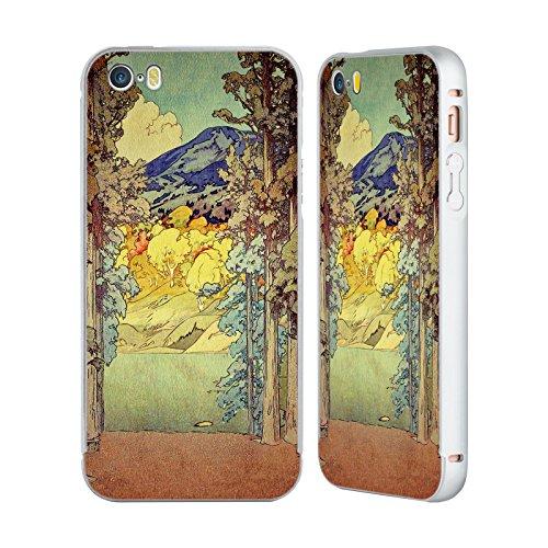 Ufficiale Kijiermono Storms Over Keiisino Arte Asiatica Antica Argento Cover Contorno con Bumper in Alluminio per Apple iPhone 6 Plus / 6s Plus Returning To Hoyi
