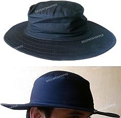 Black Colour Cricket Hat, Summer Sports Hat Cap Unisex
