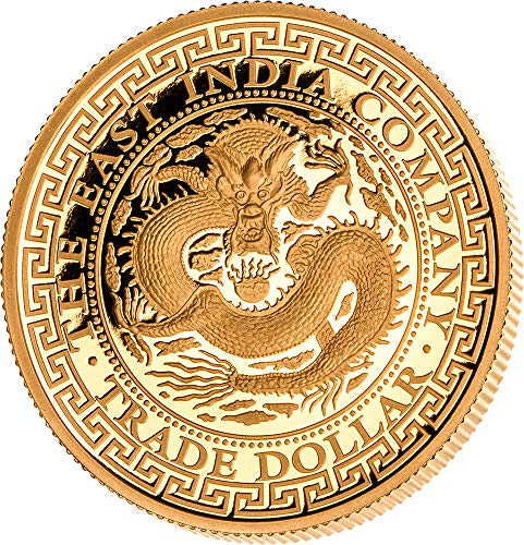 Power Coin Chinese Trade Dollar 1 Oz Gold Münze 250$ Niue 2019