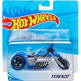 Hot Wheels Bike Ferenzo Bike (Blue, 5inch)