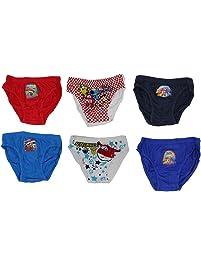 16b8857743 Super Wings Unterwäsche für Jungen, Schlüpfer aus 100% Baumwolle mit den  fliegenden Helden,