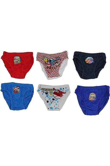 Despicable Me 3 Boys Panties Pack de 6 (110): Amazon.es: Ropa y ...