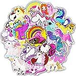 FEZZ-50pcs-Graffiti-Adesivi-Misto-Sticker-Unicorno-Cartone-Animato-Impermeabile-per-Fai-Ta-Te-Computer-Portatile-Bambini-Automobili-Motociclette-Bicicletta-Skateboard-Bagagli