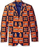 Forever Collectibles NFL Denver Broncos Herren 's Patches Ugly Business Jacke, Größe 46/groß