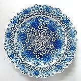 #10: Turkceramics Pearl Finish Plate (18cm, Dark Blue)
