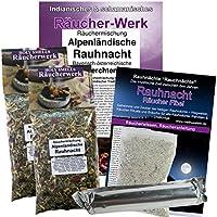 RAUHNÄCHTE: Alpenländische Rauhnacht 6-tlg Räucherset für alle Rauhnächte + Perchten + Dreikönige | 2 x Räucherwerk... preisvergleich bei billige-tabletten.eu