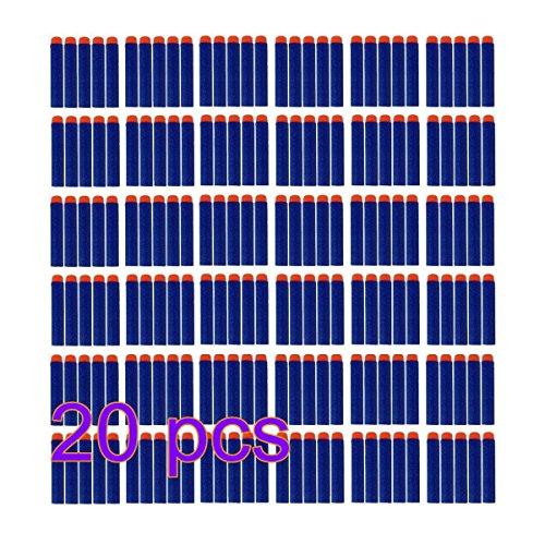 Preisvergleich Produktbild F-Eshion Elite Dart, 200pcs 7,2 cm Refill Darts für Nerf N-Strike Elite Serie Blaster Spielzeugpistole