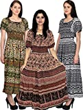 Set of Three Maxi Dress for Women, Free ...