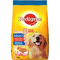 Pedigree Adult Dry Dog Food- Chicken & Vegetables, 1.2kg Pack