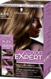 Schwarzkopf Color Expert Intensiv-Pflege Color-Creme, 6.05 Helles Naturbraun Stufe 3, 3er Pack (3 x 167 ml)