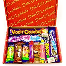 Australian and New Zealand Sweets and Candy and Chocolate Gift Box by Dolci Di Lechlade - Classic Down Under Aussie and Kiwi Favourites, perfect gift present for Birthdays, Christmas or a special treat