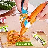 3 in1 Gemüse Obst Schäler Zesters Graters Cozinha Gadget 304 Edelstahl Aktenvernichter Aufschnittmaschinen Küche Zubehör Werkzeuge