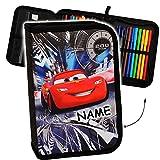alles-meine.de GmbH Federmappe gefüllt -  Disney Cars / Lightning McQueen - Auto  - inkl. Name -..