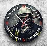 Roter Hahn 112 Hochwertige Feuerwehr Wanduhr ...Vergleich