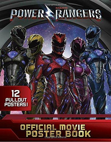 Image of Power Rangers Official Movie Poster Book (Power Rangers (Paperback))