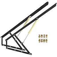 VEVOR Mécanisme de Levage Hydraulique, 2PCS Levage Pliante Pratique en Acier Cadre de Levage de lit, Kit de Levage…