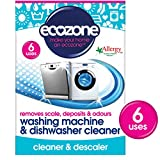 Appliances Dishwashers Best Deals - Ecozone Washing Machine and Dishwasher Cleaner x 6 (Pack of 2, Total 12 Uses)