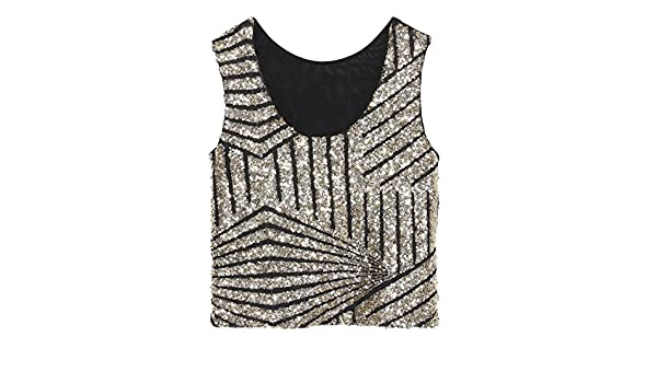 Swallowuk Damen Mode Shine Glitzer Pailletten Weste  Amazon.de  Elektronik d816ae53e6