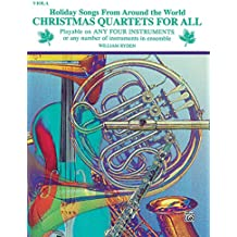 Christmas Quartets for All (Holiday Songs from Around the World): Viola