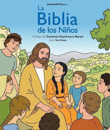 La BIBLIA de los niños (CÓMIC), de Picanyol (Biblioteca Religiosa) por Toni Matas