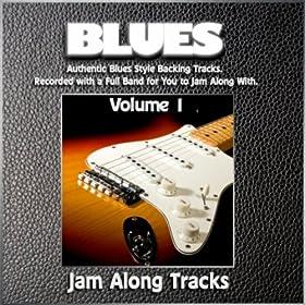 Key D 66bpm (Blues Jam Track) [Jam Trax]