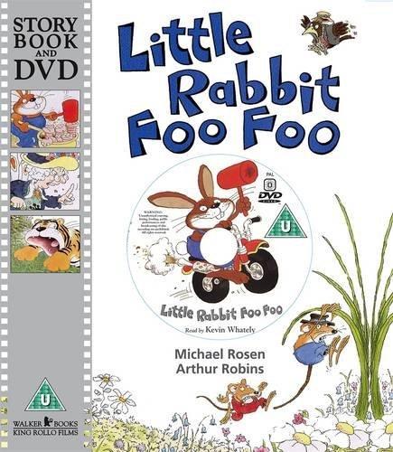 Little Rabbit Foo Foo (Book & DVD) by Rosen, Michael (September 7, 2009) Paperback