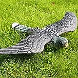 SYN, deterrente per Uccelli Finti e Uccellini Volanti, Ornamenti da Giardino per Montaggio su Parete e Albero