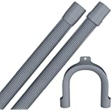 Drain hose 2,5 meters for washing machine/dishwasher with 19 / 22mm connection in premium quality